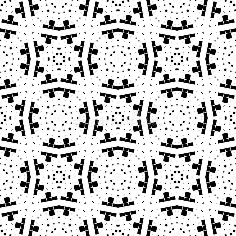 Achtergrond, abstract geometrisch naadloos patroon, vector royalty-vrije illustratie
