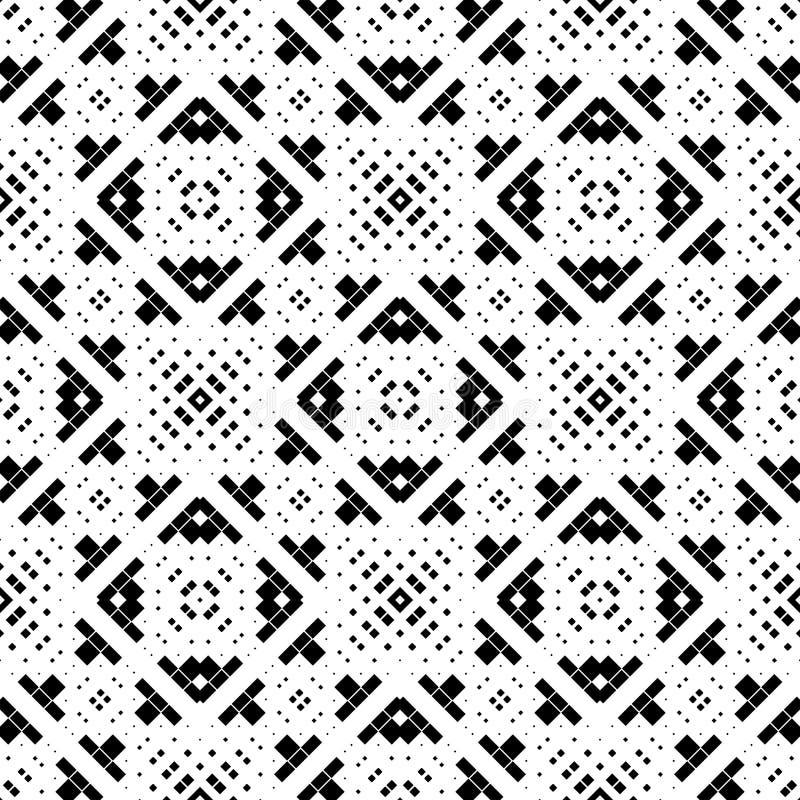 Achtergrond, abstract geometrisch naadloos patroon, vector vector illustratie