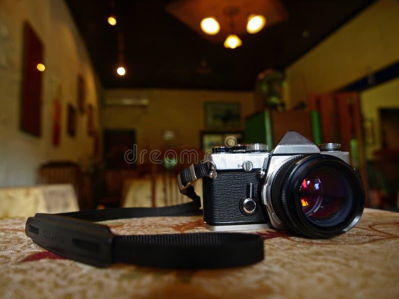 Achtergrond Beeld van Camera stock foto