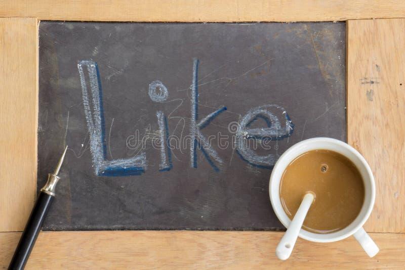 Achtergrond, bord, heerser, koffie, glazen, houten vloeren stock fotografie