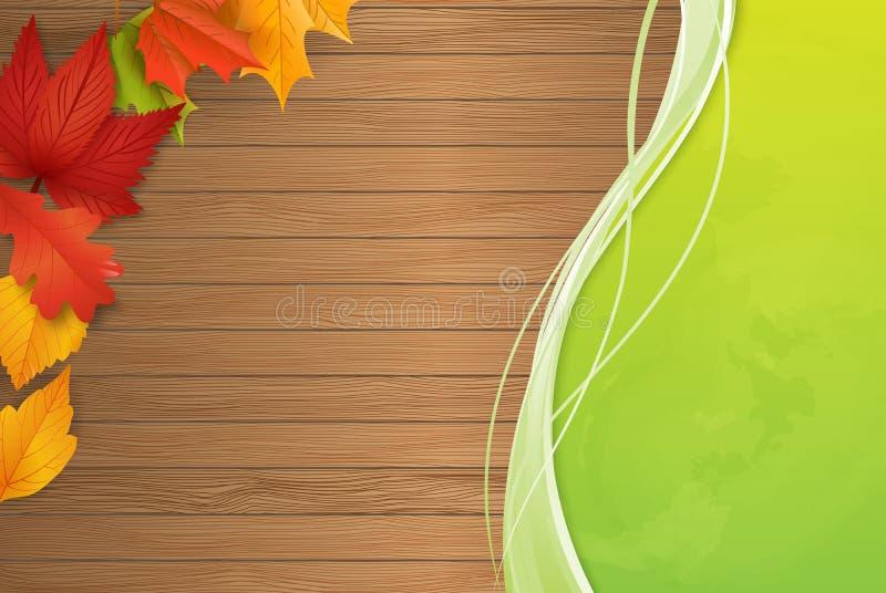 Achtergrond - de herfst - bladeren - gebladerte stock fotografie