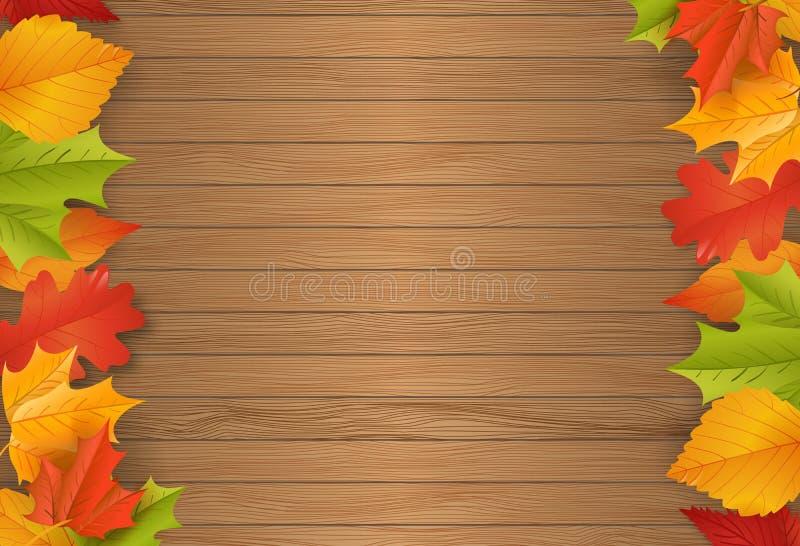 Achtergrond - de herfst - bladeren - gebladerte stock afbeelding