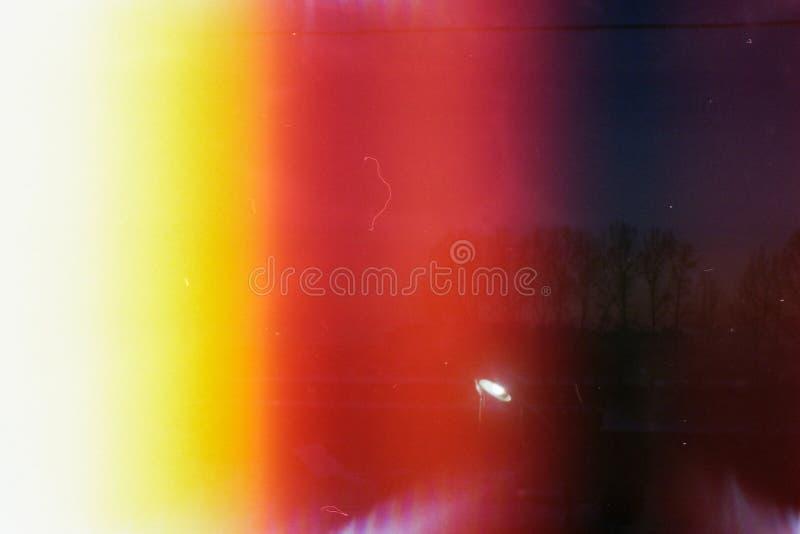 Achtergrond De verlichte film stock afbeeldingen