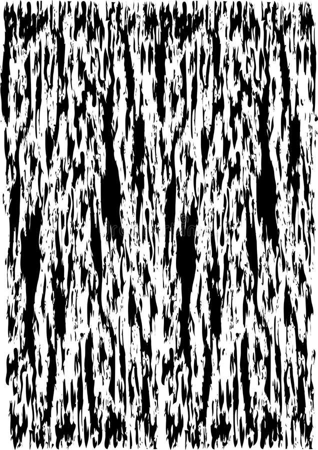 Achtergrond die abstracte zwarte vlekken herhalen royalty-vrije illustratie