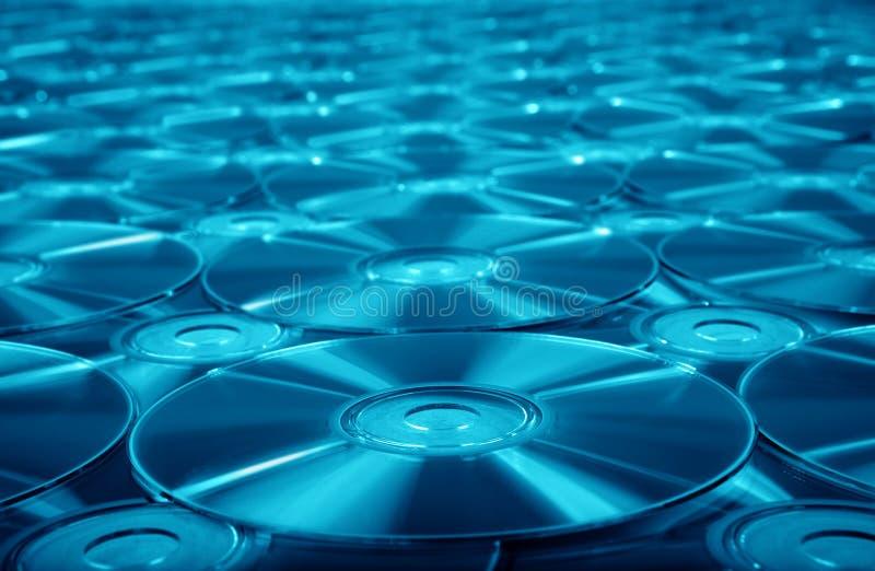 Achtergrond DVD royalty-vrije stock foto