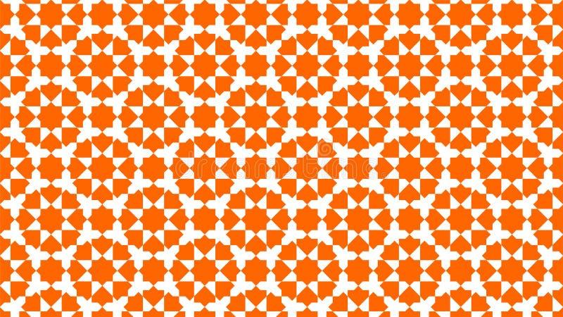 Achtergrond een mooie Islamitische decoratie met harmonische ineengestrengelde vormen, mooie kleuren en aantrekkelijke kleuren stock foto's