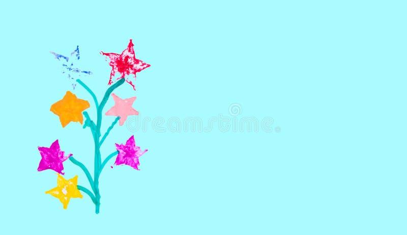 Achtergrond en textuur van de verf van de waterkleur stock foto's