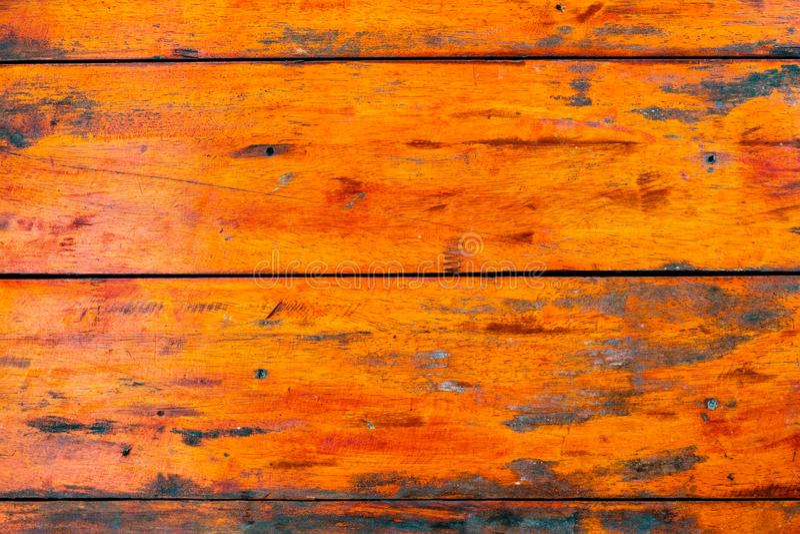 Achtergrond en textuur van decoratieve detail oude kleurrijke houten streep op oppervlaktemuur royalty-vrije stock afbeeldingen