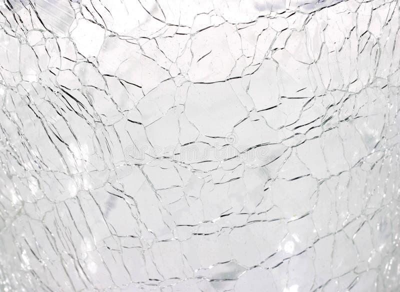 Achtergrond - Gebroken glas royalty-vrije stock afbeelding