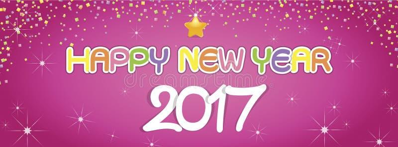 Achtergrond Gelukkige Nieuwjaargroeten royalty-vrije stock afbeeldingen