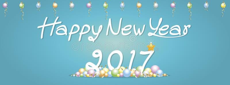 Achtergrond Gelukkige Nieuwjaargroeten royalty-vrije stock fotografie