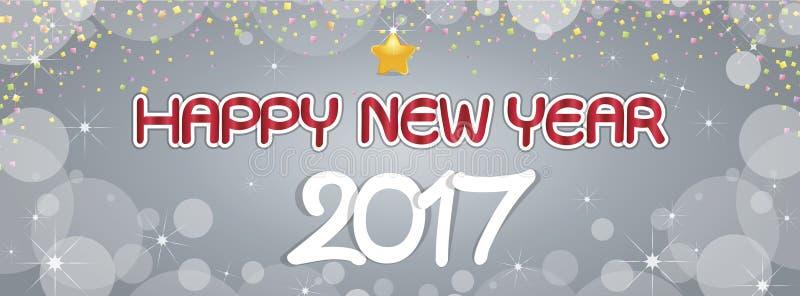 Achtergrond Gelukkige Nieuwjaargroeten stock afbeeldingen