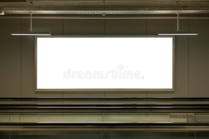 Achtergrond grote LCD reclame stock afbeelding