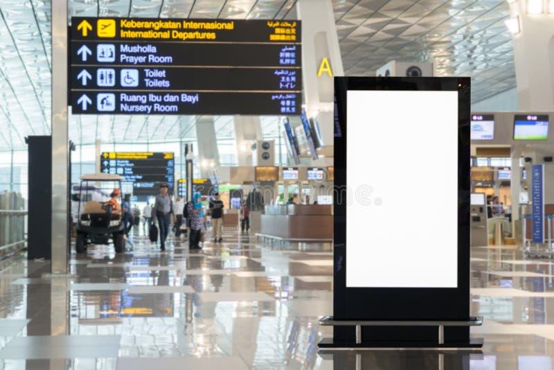 Achtergrond grote LCD reclame royalty-vrije stock afbeeldingen