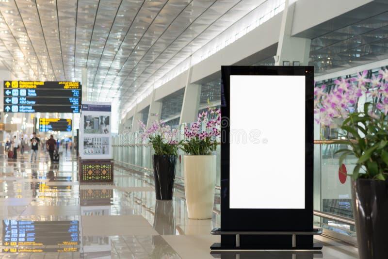 Achtergrond grote LCD reclame stock afbeeldingen