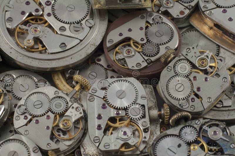 Achtergrond - horloges royalty-vrije stock fotografie