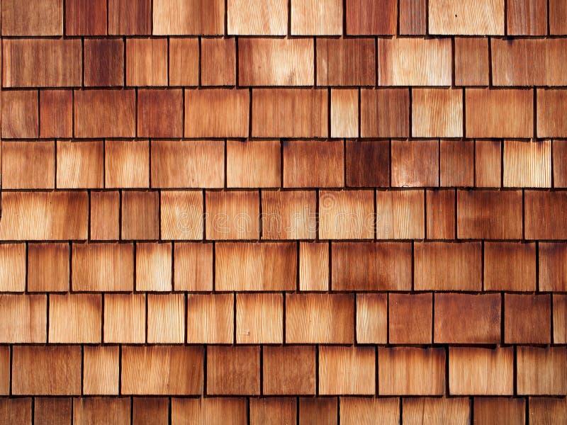 Achtergrond Houten Tegelmuur stock afbeelding