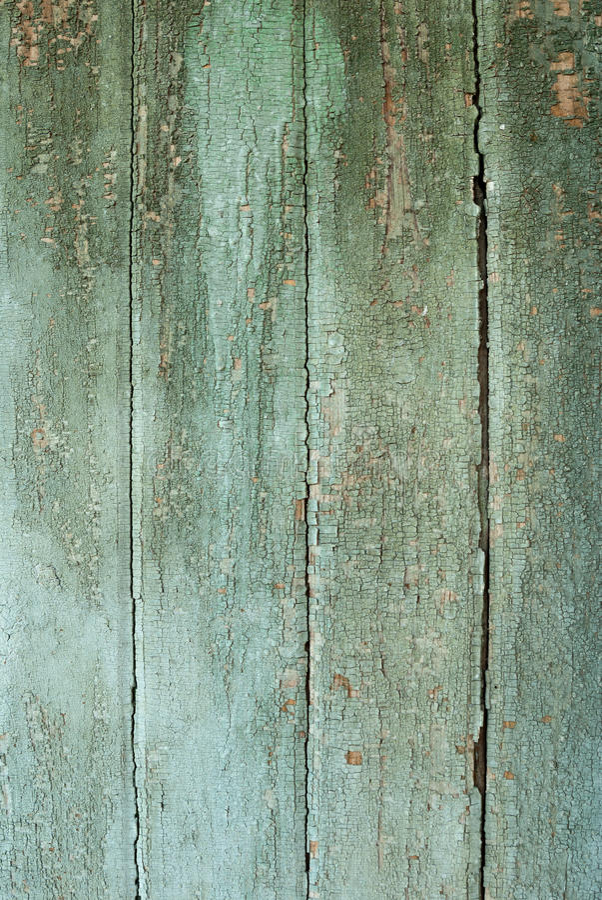 Achtergrond inzameling - de oude verf op raad stock foto