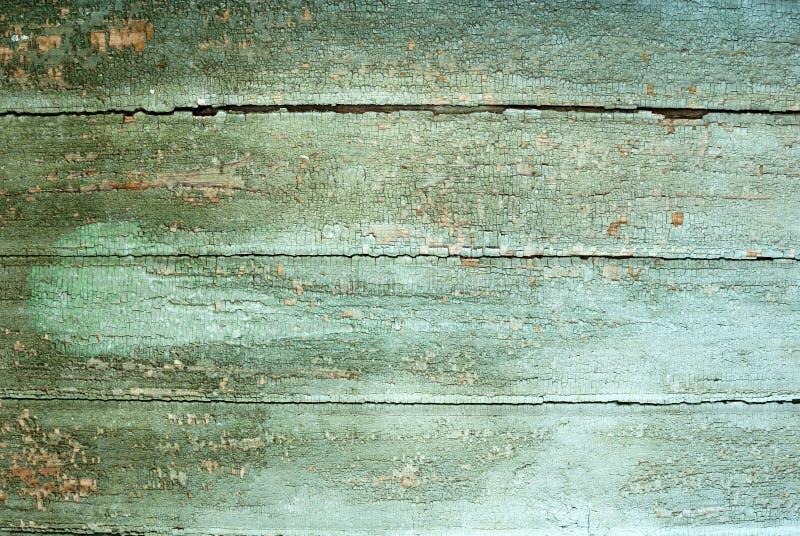 Achtergrond inzameling - de oude verf op raad stock fotografie