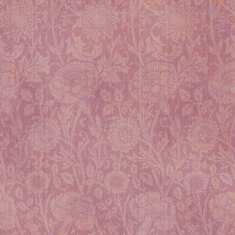 Achtergrond Mauve BloemenAllove royalty-vrije illustratie