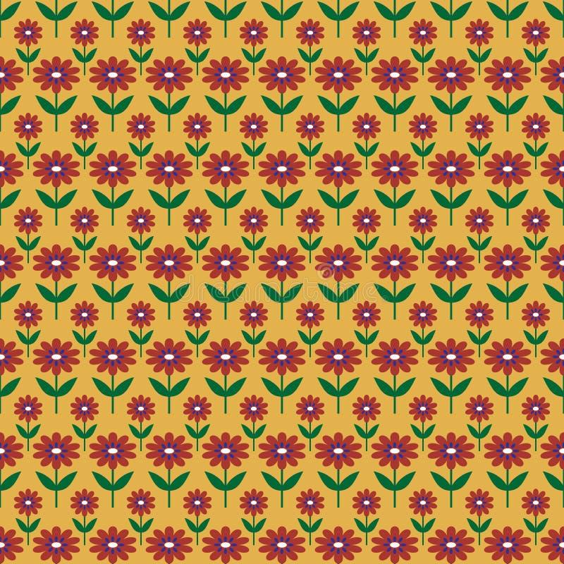 Achtergrond met abstract bloemenpatroon royalty-vrije stock foto's