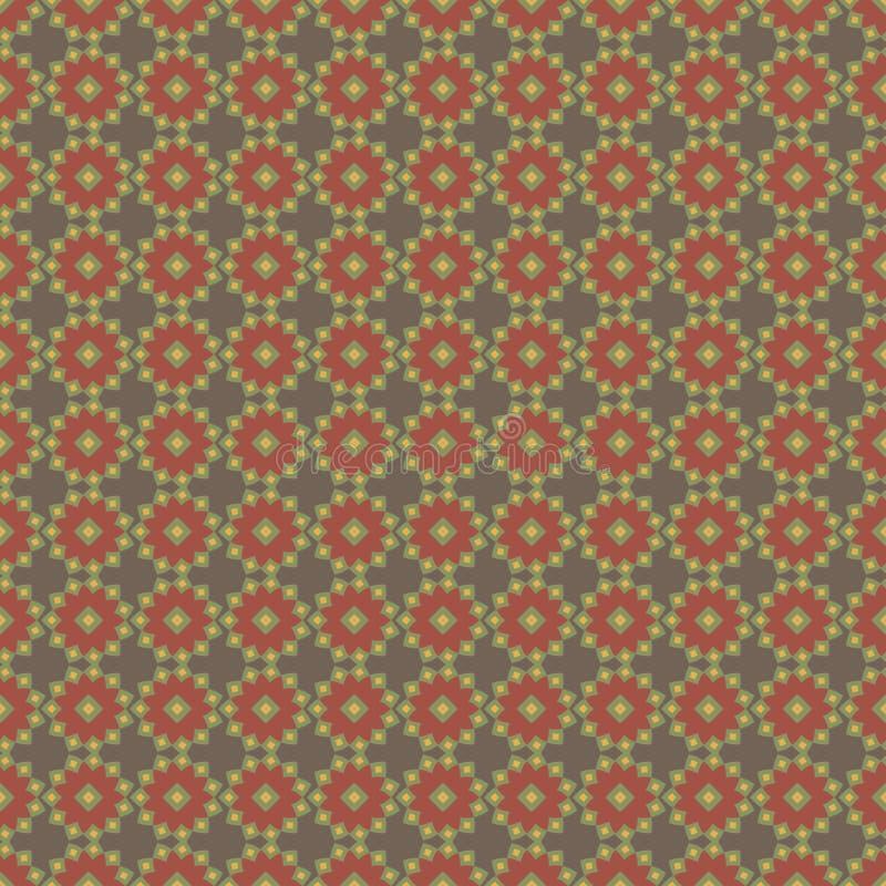 Achtergrond met abstract bloemenpatroon royalty-vrije stock foto