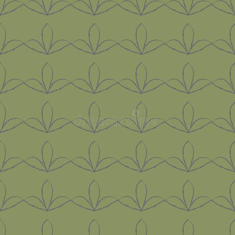 Achtergrond met abstract bloemenpatroon stock fotografie