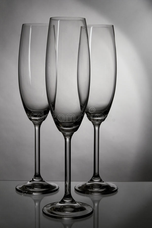 Achtergrond met een glas wijn royalty-vrije stock foto