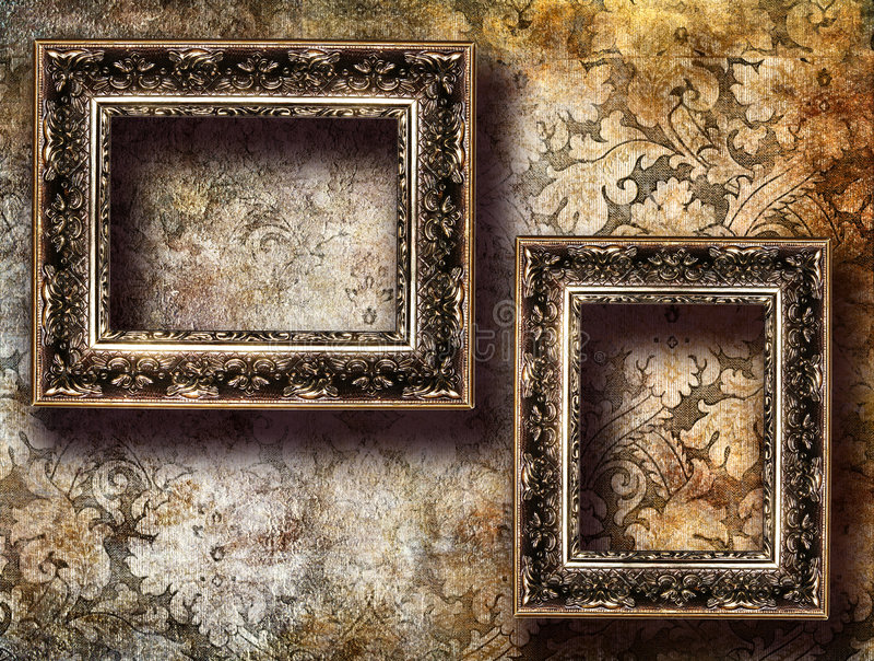 achtergrond met frames royalty-vrije stock afbeeldingen