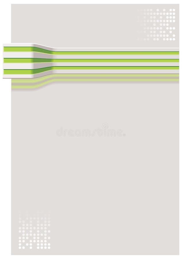 Achtergrond met gestreepte kabel vector illustratie