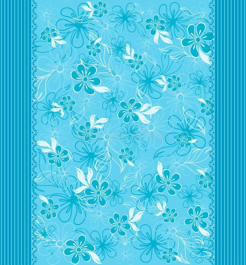 Achtergrond met mooie bloemen royalty-vrije illustratie