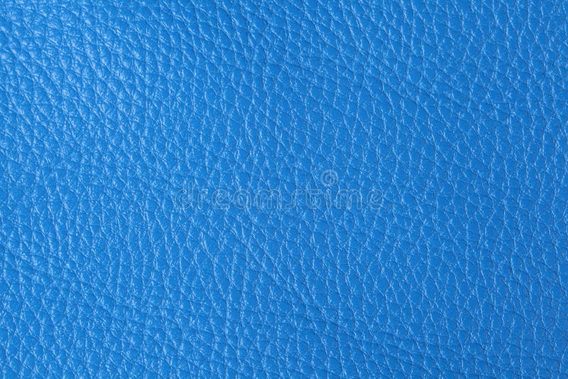 Achtergrond met textuur van blauw leer royalty-vrije stock fotografie