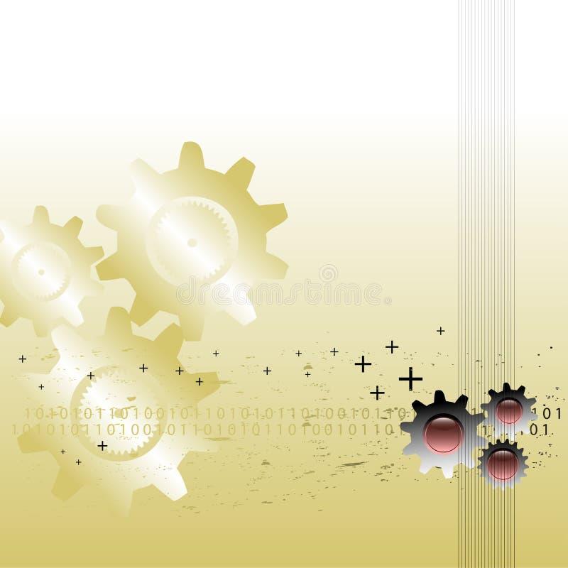 Achtergrond met toestellen vector illustratie
