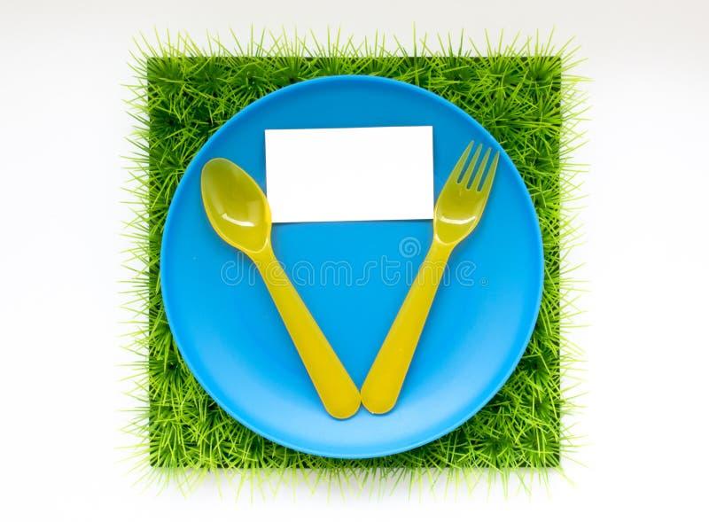 Achtergrond over de picknick, vakantie, voedsel, barbecue, groene gr. royalty-vrije stock afbeeldingen