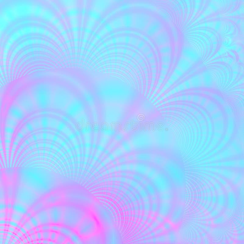 Achtergrond patroon van aqua en viooltje royalty-vrije illustratie