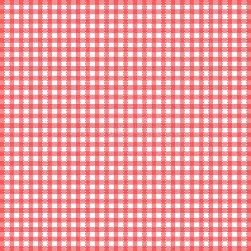 Achtergrond patroon voor picknicks royalty-vrije illustratie