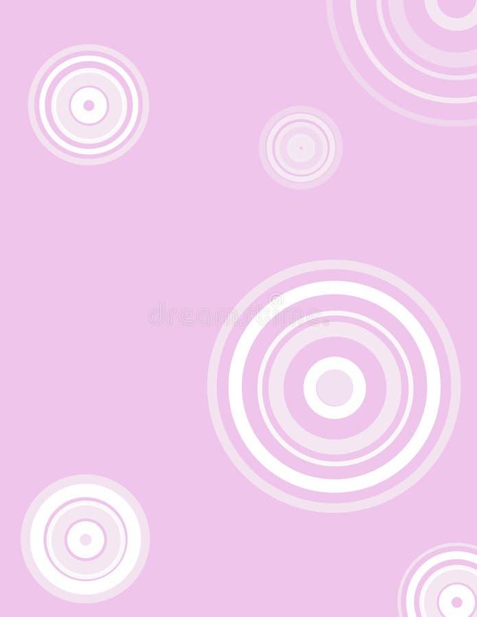 Achtergrond in purpere munt vector illustratie