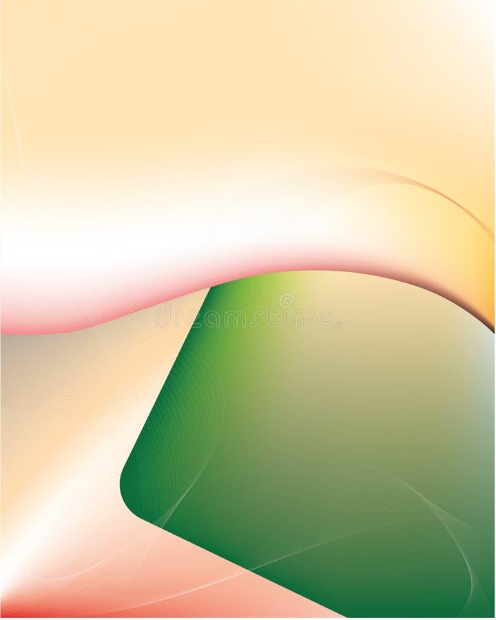 Achtergrond, samenvatting, roze, sinaasappel, wit, rook, vector, kleurrijk ontwerp, gradiënt, heldere aard, gele textuur, fantasi royalty-vrije illustratie