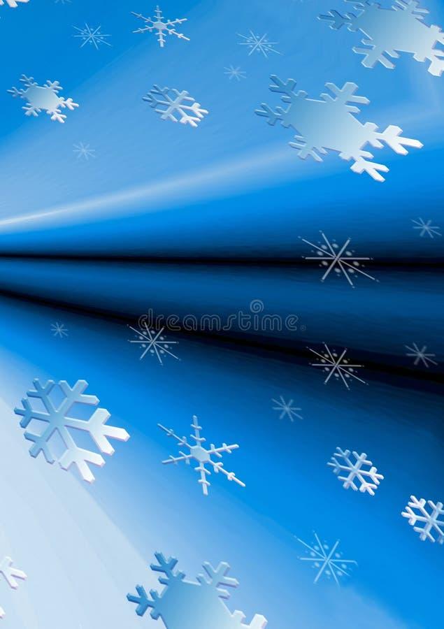 Achtergrond Sneeuw Stock Foto's