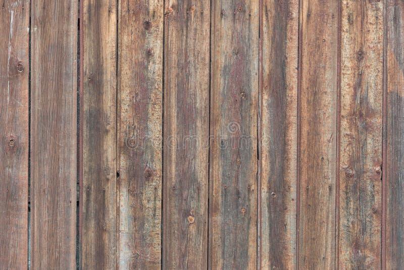 Achtergrond in stijl een plattelander van oude ruwe houten unpainted raad royalty-vrije stock afbeelding