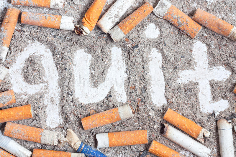 Achtergrond tegen het roken royalty-vrije stock afbeeldingen