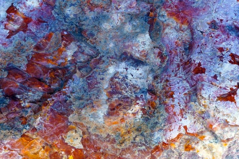 Achtergrond, textuur - gekleurde oppervlakte van natuursteen stock foto