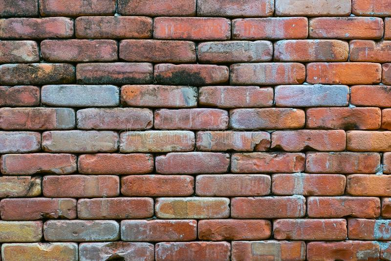Achtergrond van brick-muur royalty-vrije stock foto's
