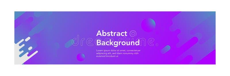 Achtergrond van de banner de abstracte moderne design_modern kleur stock illustratie