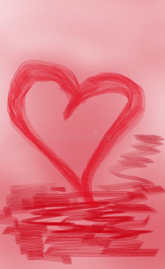 Achtergrond van de dag van Heilige Valentine royalty-vrije stock foto's