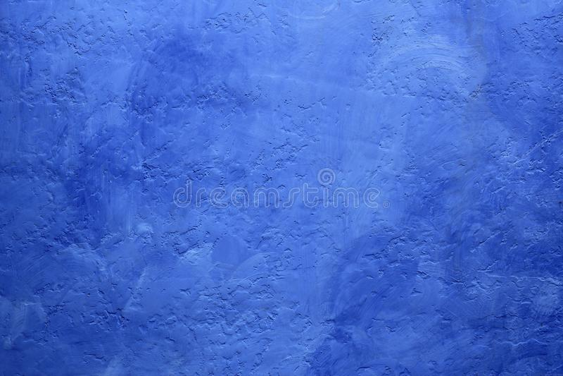 Achtergrond van de de muurtextuur van Grunge de blauwe geschilderde stock afbeelding