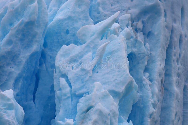 Achtergrond van de gletsjer van Perito Moreno royalty-vrije stock afbeeldingen