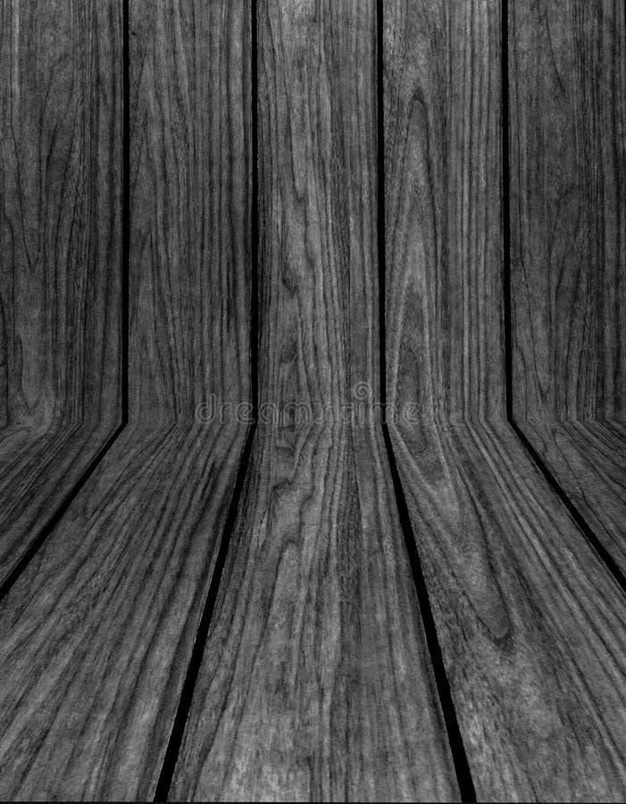 Achtergrond van de Grunge de Oude Zwarte Houten Textuur royalty-vrije stock afbeeldingen