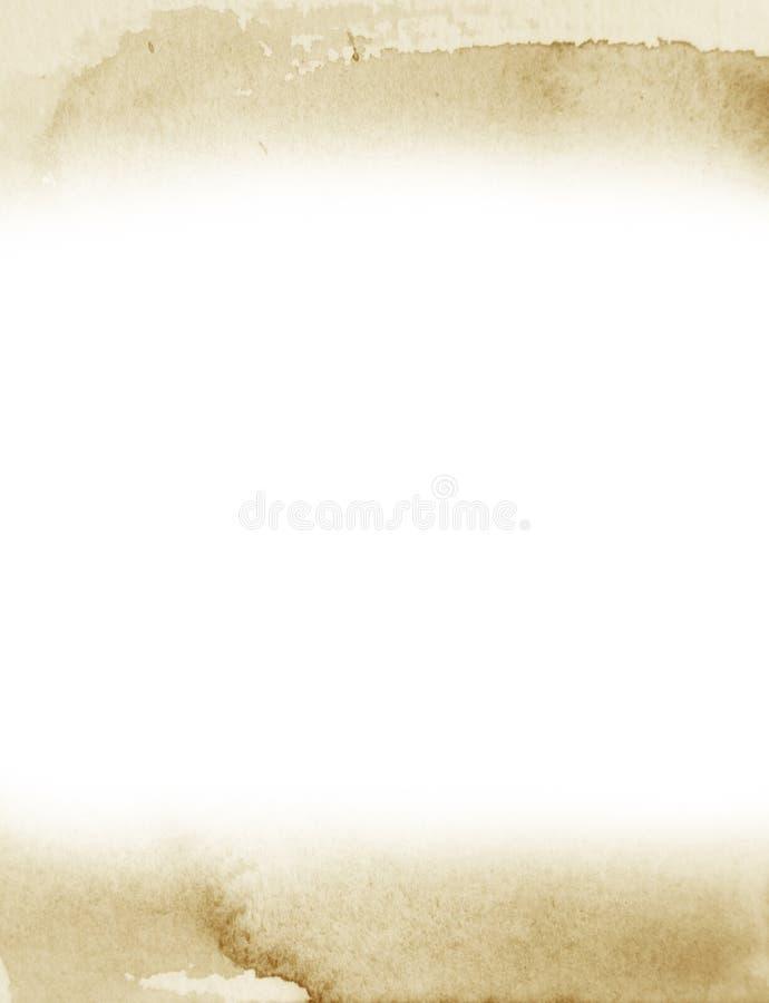 Achtergrond van de Grunge retro waterverf royalty-vrije stock afbeelding