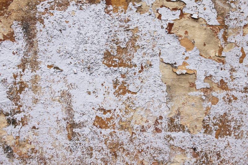 Achtergrond van de hoog gedetailleerde witte muur van de fragmentsteen stock afbeelding